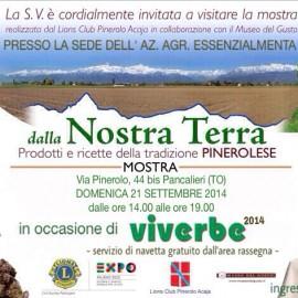 """Mostra """"DALLA NOSTRA TERRA"""" 21/09/2014"""