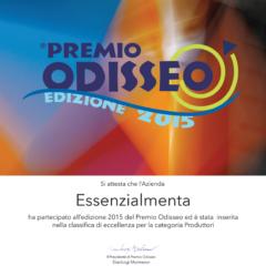 """…""""Essenzialmenta"""" finalista al premio ODISSEO!"""